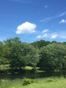 Southford Falls Pond